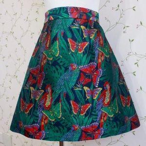 🦋 Stunning embroidery Mini/Midi Skirt